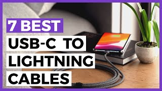 Gambar cover 7 Best Usb-C to Lightning Cables for 2020 - Find the Best third Party Usb-c to Lightning Cable