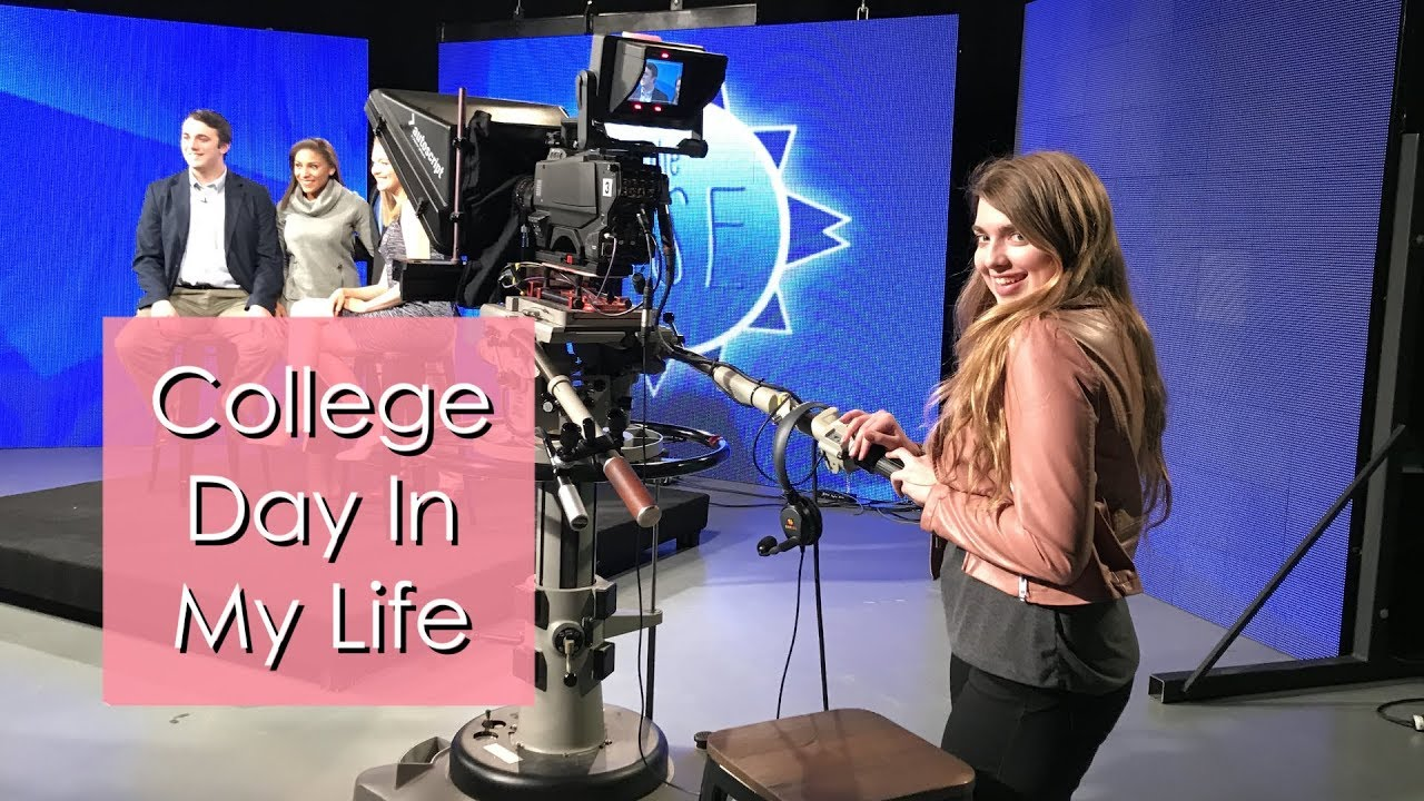 Day in the Life of a Film/Journalism Major // College Day in my Life Vlog