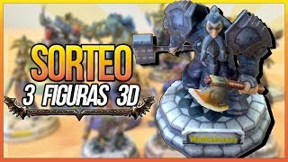 SORTEO 3 FIGURAS 3D PERSONAJES WOW