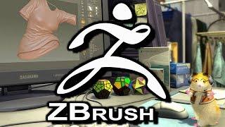 [LIVE] コロユキのZBrush練習【バーチャルYouTuber Live017】