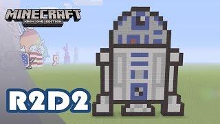 Minecraft: Pixel Art Tutorial and Showcase: R2-D2 (Star Wars)