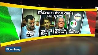 Italy Descends Into Political Crisis as Prime Minister Conte Resigns