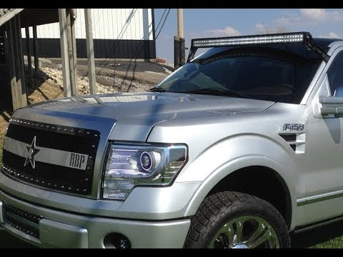 Addictive desert designs 50 led light bar high mount for ford f150 addictive desert designs 50 led light bar high mount for ford f150 09 14 aloadofball Choice Image