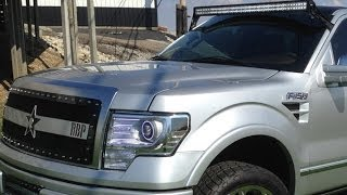 Addictive Desert Designs 50'' Led Light Bar High Mount For Ford F150 - 09-14