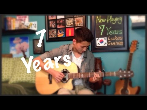 Lukas Graham -7 Years - Cover (fingerstyle guitar)