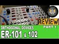 Orthogonal Devices ER-101 ER-102 Indexed Quad Sequencer REVIEW (1/2) Eurorack Sequencer Modules