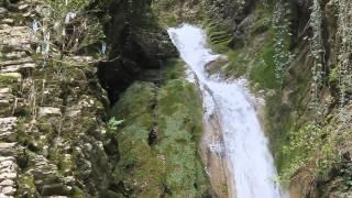 Красивый водопад Чудо-Красотка