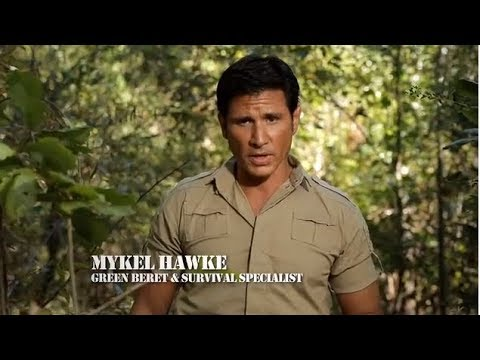 """#1 Ranked Survivalist Mykel Hawke """"Being Prepared For The Unexpected"""""""