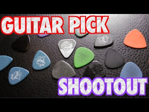 Guitar Pick Shootout: Thickness