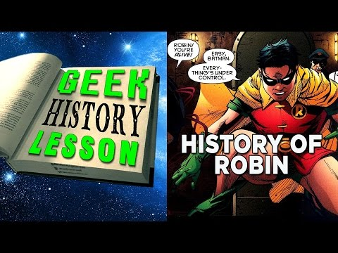 History of Robin - Live from NerdCon 2015 - Geek History Lesson