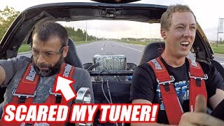 Download Supercharging Leroy Ep.5 - IT'S SCARY FAST! (first drive) Mp3 and Videos
