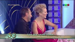 La superación de Noah, hijo de Luisana Lopilato, según Guillermo Francella - Susana Giménez 2017