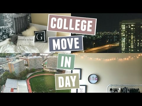 MOVE IN DAY: BOSTON UNIVERSITY SOPHOMORE YEAR (VLOG)!
