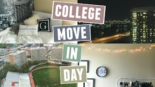 move in day boston university sophomore year vlog