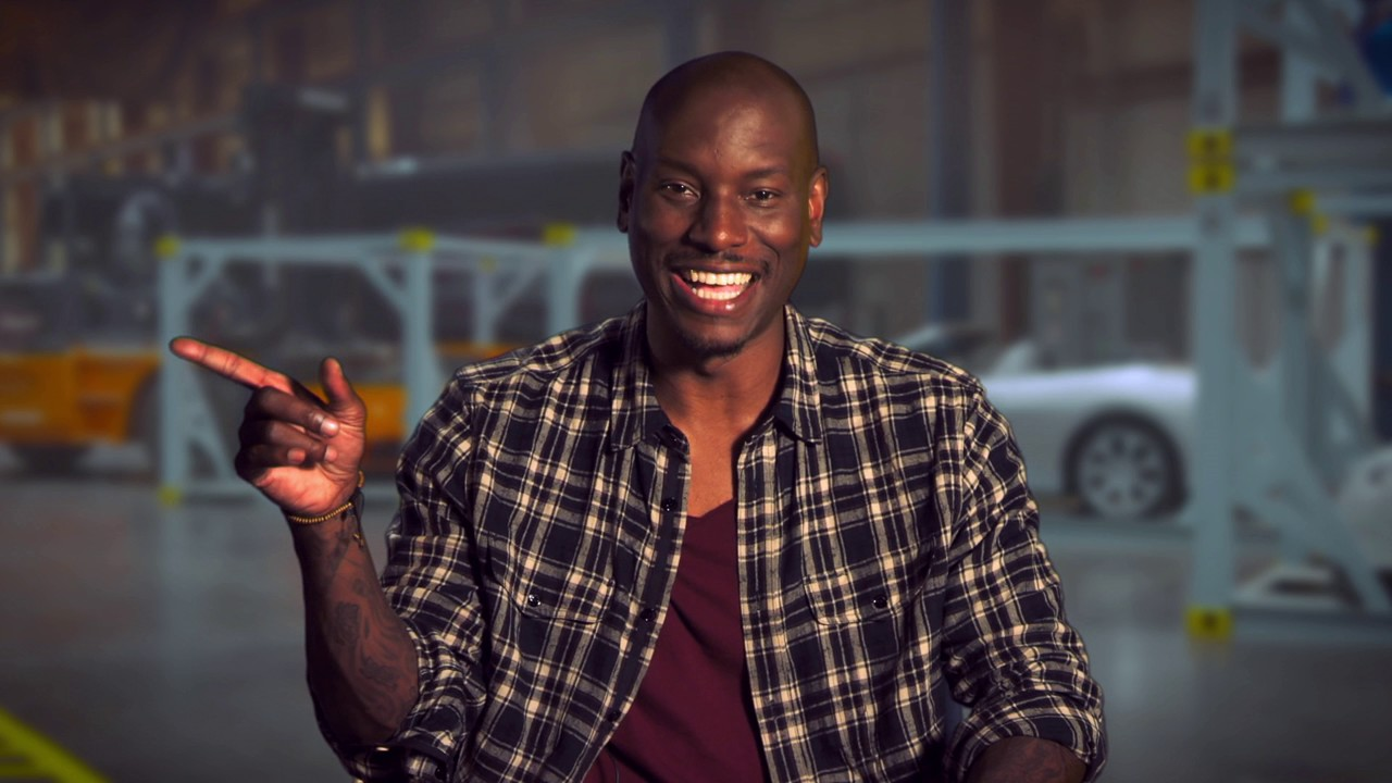 Pics photos tyrese gibson picture 8 - The Fate Of The Furious Tyrese Gibson Roman Pearce Behind The Scenes Movie Interview
