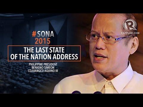 SONA 2015: Aquino's 6th State of the Nation Address