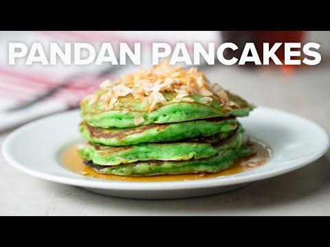 Pandan Pancakes • Tasty Recipes