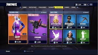 Fortnite LIVE FROM THE DAILY ITEM SHOP AUG.17TH