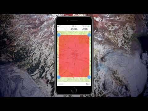 Gaia GPS - Download Maps for Offline Use (iOS) - YouTube Downloadable Maps For Iphone on
