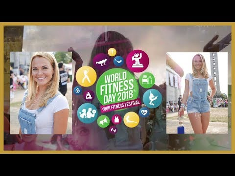 World Fitness Day 2018 // Mareike Spaleck // VLOG Frankfurt