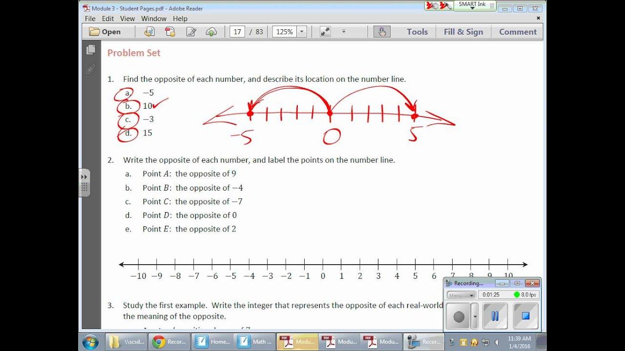 Grade 6 Module 3 Lesson 4