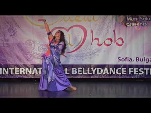 Aziza at *Orient el hob*  2016 festival Sofia Bulgaria