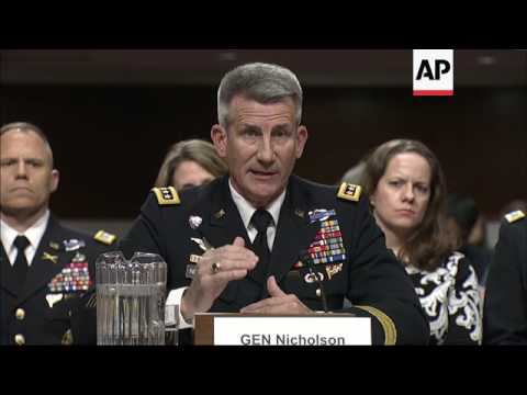 """US Afghan commander: """"We are in a stalemate"""""""