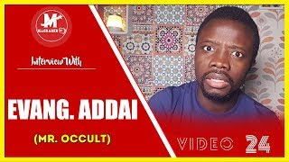 EVANGELIST ADDAI MEETS HIS METER ON MAGRAHEB TV