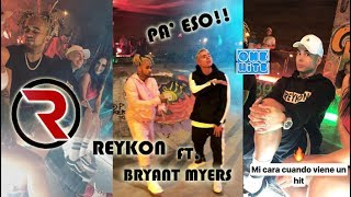 Reykon ft Bryant Myers - Pa Eso (Official Video Backstage)