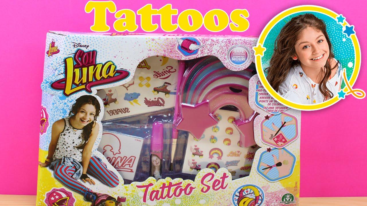 Juguetes De Soy Luna En Español Set Para Hacer Tatuajes De Soy
