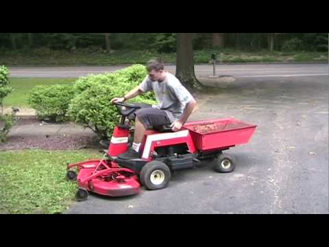 The 1987 Simplicity Sunrunner Rear Wheel Turn Lawn Tractor