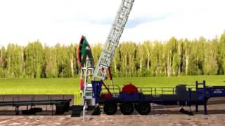 Көтергіш Агрегат ұңғымаларды жөндеуге арналған ''Барс 80''