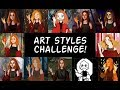 10 ART STYLE CHALLENGE | Video games | Part 1