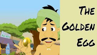 The Golden Egg - Aesop's Fables In Malayalam - Animated/Cartoon Tales For Kids