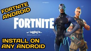 Download fortnite early access for android now (leaked) !!!