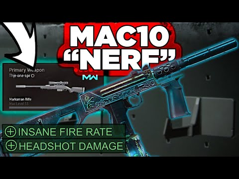Mac 10 after the Nerf is still Insane! Mac 10 Setup with SPR 208 Class, Warzone tips by P4wnyhof