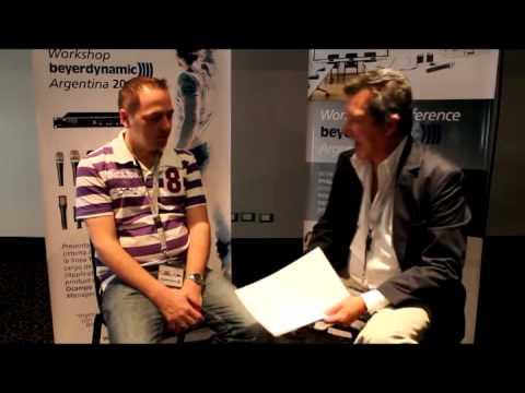 Workshop beyerdynamic Argentina 2013 - Bernd Neubauer entrevistado por Rubén Branca