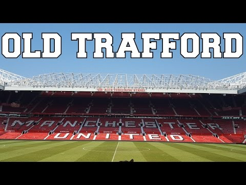 Manchester United Old Trafford Stadium Tour & Museum