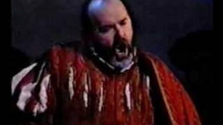 Paolo Gavanelli - Rigoletto - Cortigiani, vil razza dannata