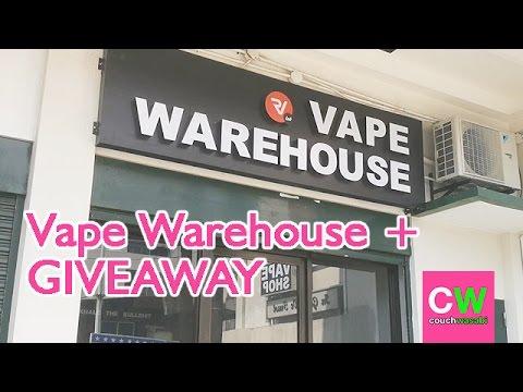 Vape Warehouse Cubao + Giveaway  ♡ (CLOSED) | couchwasabi vapes