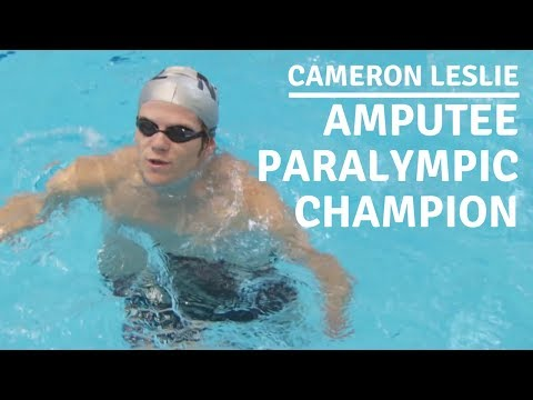 Cameron Leslie: Amputee Paralympic Champion