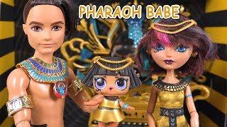 Pharaoh Babe Famille LOL Poupées LOL Family