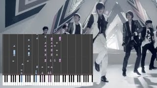 INFINITE - The Chaser (Piano)