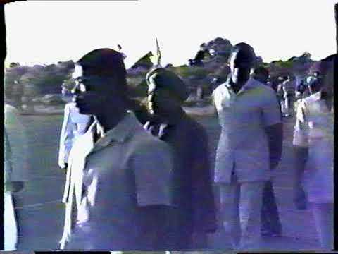 Visite de YASSER ARAFAT  aux Comores