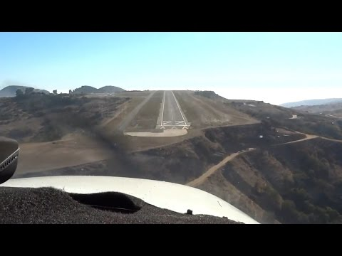 "Flying to Catalina Island ""Airport In The Sky"" (KHHR - KAVX - KHHR)"