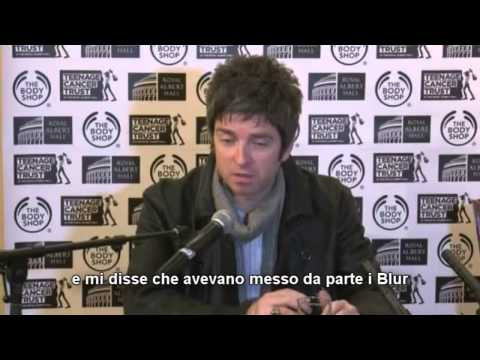 (sottot.) Noel Gallagher on Blur collaboration - Teenage Cancer Trust 2013