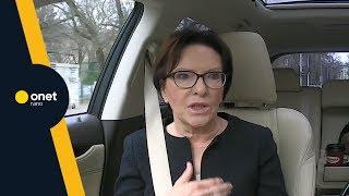 Ewa Kopacz: ta władza po raz kolejny próbuje oszukać obywateli | #OnetRANO