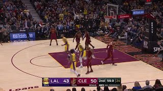2nd Quarter, One Box Video: Cleveland Cavaliers vs. Los Angeles Lakers