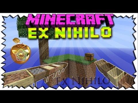 Minecraft EX NIHILO Mod Review