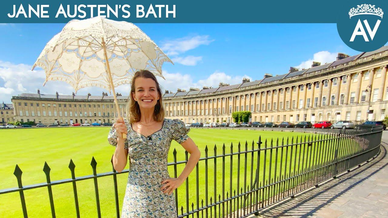 Julie Relaxes in Jane Austen's Bath | American Viscountess Ep 4
